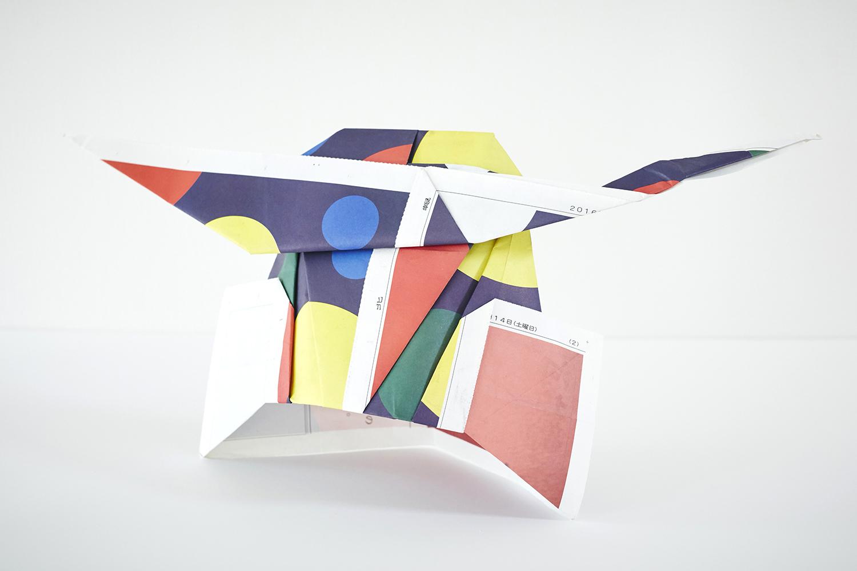 宮城の魅力「伊達な色」新聞を使った折り紙 / プロジェクト・キャンペーン